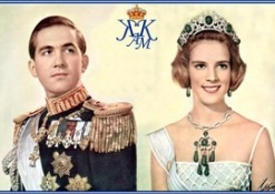 Queen Elizabeth Makes a Rare Appearance for King Constantine