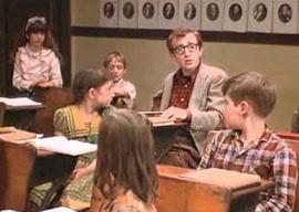 Woody Allen in Annie Hall