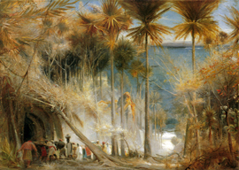 Ali Baba and the Forty Thieves by Albert Goodwin