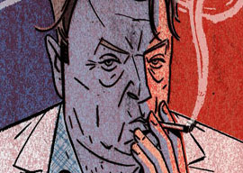 Christopher Hitchens: Party Pooper