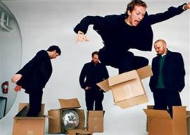 Coldplay looking