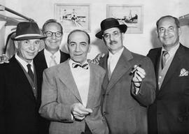 The Marx Bros - Harpo, Zeppo, Chico, Groucho, and Gummo