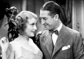 Maurice Chevalier and Jeanette MacDonald