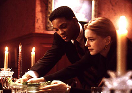 Will Smith and Stockard Channing in Six Degrees of Separation