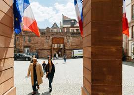 Polling Station, Strasbourg