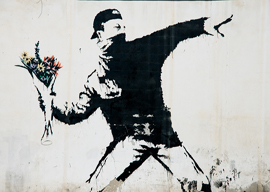 Banksy Protest Mural, Palestine