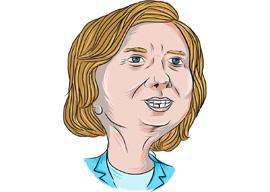 Is Hillary Clinton a Brain-Damaged Invalid?