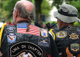 Bikers in the White House