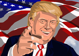 Donald Trump: Satirist-in-Chief
