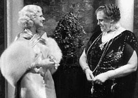 Jean Harlow and Marie Dressler