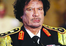 Gaddafi's Bitter (and Sore) End