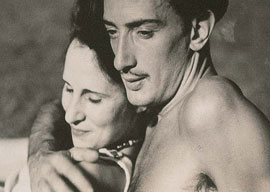 Gala and Salvador Dali