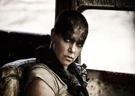Charlize Theron in Fury Road