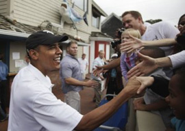 Barack Obama on Martha's Vineyard