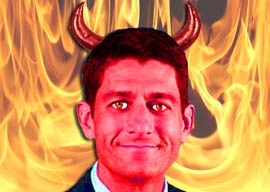 Satan, Thy Name is Paul Ryan