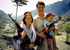 Greg Mortenson and family