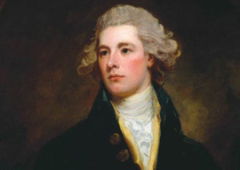 William Pitt the Younger, circa 1783 by George Romney