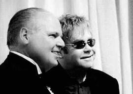 Rush Limbaugh and Elton John