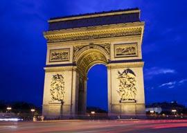 L'arc de Triomph, Paris