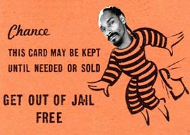 The Magical Hip-Hop Get Out of Jail Free Card