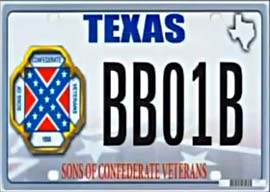 Sore Losers & Sore Winners: Texas Nixes Rebel-Flag License Plates