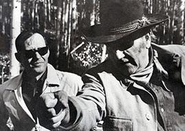 Charles Portis and John Wayne