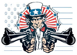 Uncle Sam, Give Us Your Guns