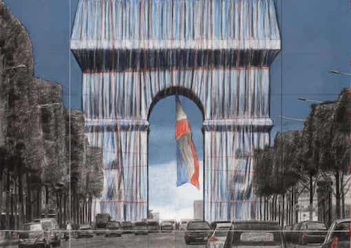 The Arc de Triomphe's New Clothes