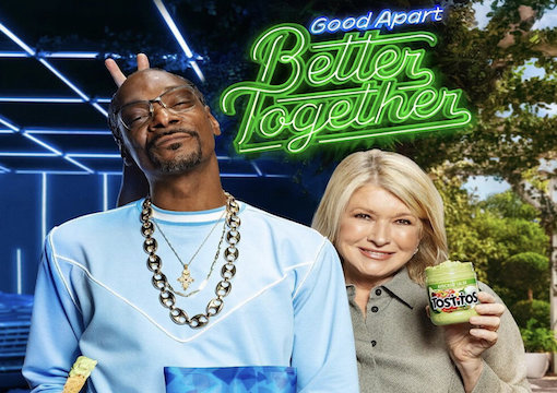 Snoop Dog and Martha Stewart