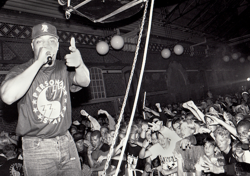 Chuck D. from Public Enemy, 1991