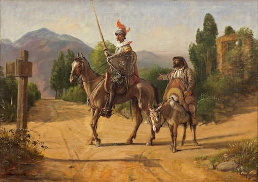 Don Quixote and Sancho Panzo