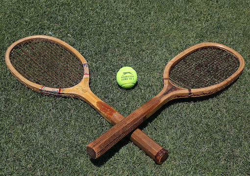 A Quiet Game of Tennis