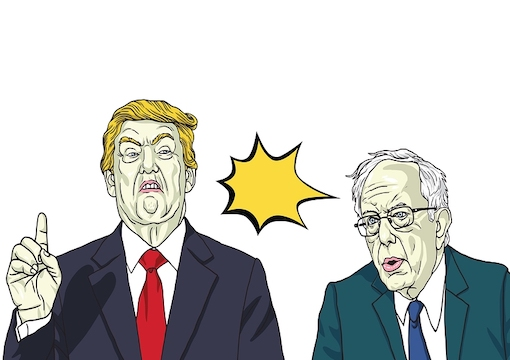 Bernie is Still Trump's Nightmare