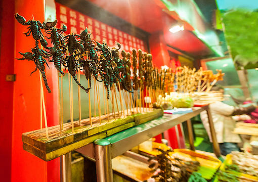 Fried Scorpion, Beijing