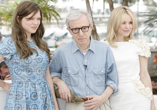 Lea Seydoux, Woody Allen, Rachel McAdams