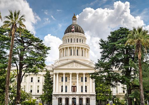 Sacramento, CA. Capital building