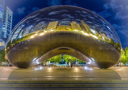 The Cloud Gate, Chicago, IL