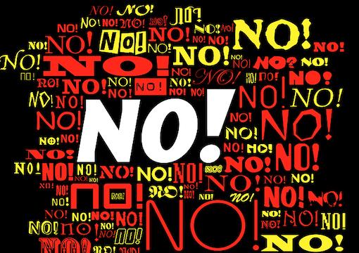 """Saying """"No"""" to Black People"""