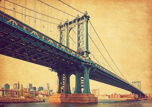 Manhattan Bridge, N.Y.